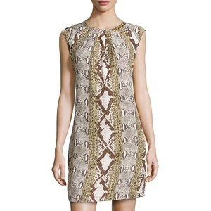 NWT Michael Kors Snake and Chain Print Dress
